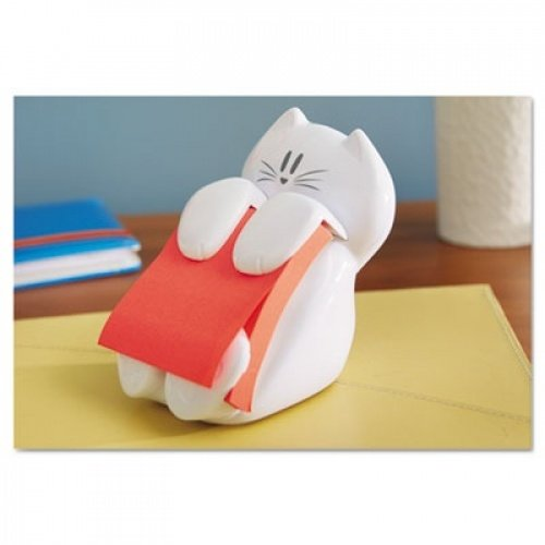 Post-it(R) CAT-330 Pop-up Note Dispenser, 3in. x 3in, White