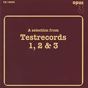 Opus 3: A Selection From Test Records 1, 2 & 3