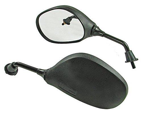 rechte Seite Linksgewinde mit E-Pr/üfzeichen Spiegel Set M8 Gewinde