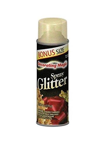 Decorating Magic Multi Glitter Christmas Spray - 6 Ounces