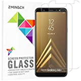 Samsung A6 Plus Screen Protector Glass, by ZMINDCH,Tempered Glass Screen Protector Compatible with Samsung A6 Plus [3-Pack]
