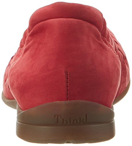 Think!! Women's Wunda Ballet Flats Red (Red/Kombi 72) SD74hCLWWA