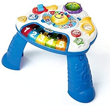 Bebé einstein Juguete Discover Música actividad MESA Diversión Juego & Aprender Regalo: Amazon.es: Juguetes y juegos