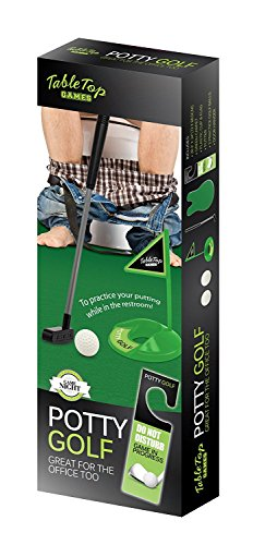 Table Games Potty Golfing - The Golfer's Gag Gift