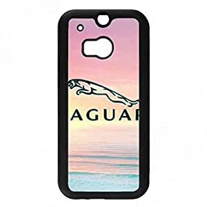Jaguar Car Logo Phone Funda Cover Snap On Htc One M8 Best Choice For Your Phone Protector