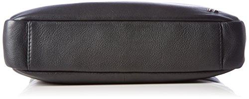 Tosca Blu Herren Mister Business Tasche, Schwarz (Black), 6x27.5x23.5 cm