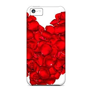 pc Case Cover For Iphone 5c Strong Protect Case - Delicate Love Design