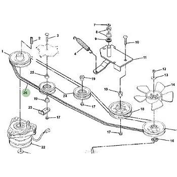 Amazon Com John Deere Original Equipment V Belt M127523 Lawn