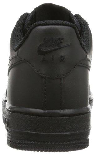 Nike Air Force 1 Gs, Zapatillas de Baloncesto Unisex Niños Negro (Black/black Black)
