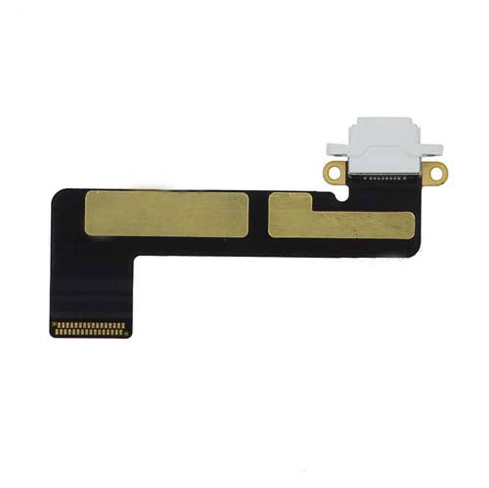Charging Port Flex Cable for Apple iPad Mini - White (A1432, A1454, A1455)