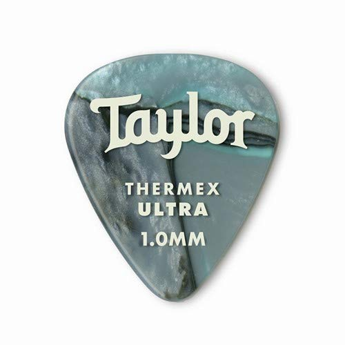 - Taylor Premium Darktone 351 Thermex Ultra Guitar Picks 6-pack - Abalone 1.00mm