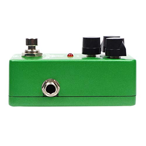 Flameer Guitar Effect Pedal Overdrive True-Bypass Green TOD-1