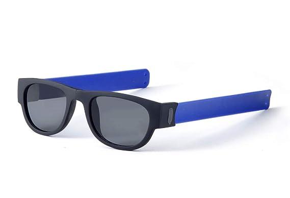 Gafas de Sol Plegables de Pulsera Unisex. Proteción Total UV400. Resistente y duradera. Ideal para Conducir, Viajes, Playa, Montaña, Deporte, Fiestas