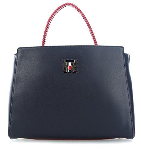 Tommy Hilfiger TH Twist Handtasche navy