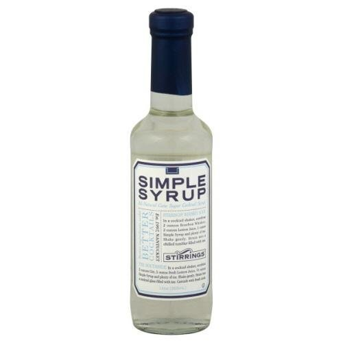 Stirrings Simple Syrup 12 oz - Corn Water Syrup