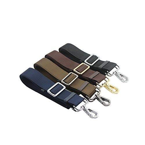 Lvcky Mans Bag Replacement Straps Brown Shoulder Adjustable Straps Straps with Handbag Strap Hooks