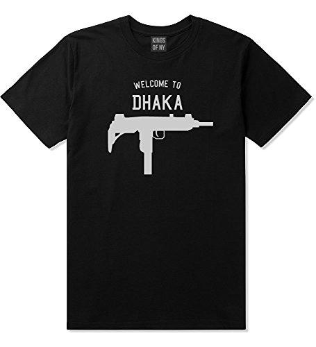 Welcome To Dhaka Uzi Machine Gun City T-Shirt