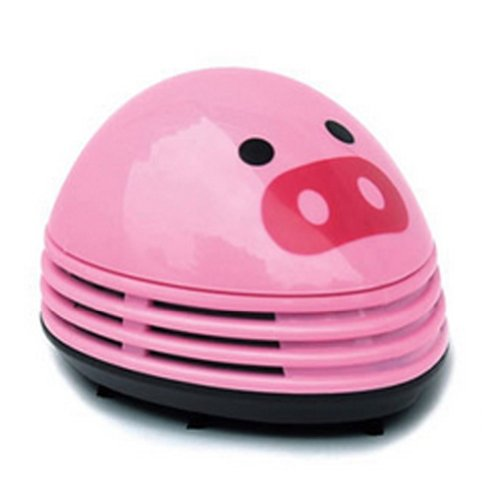 Creative Fashion Lovely Mini Pig Handheld Vacuums Random Col