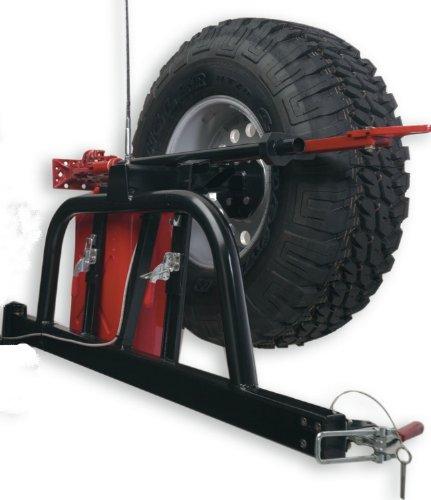 Body Armor 4x4 5294 Black -Steel Swing Arm Tire Carrier
