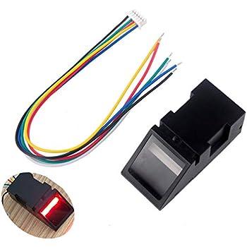 Amazon com : FlashTree FPM10A Optical Fingerprint Reader Module TTL