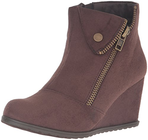 2 Lips Too Womens Too Nine Ankle Bootie Brown