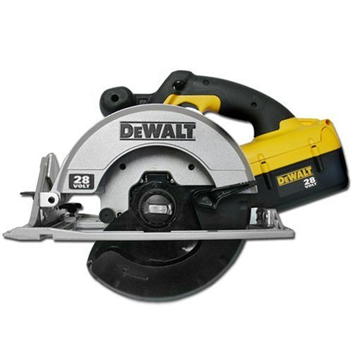 DEWALT DC310K 28-Volt 6-1 2-Inch Lithium-Ion Cordless Circular Saw with NANO Technology