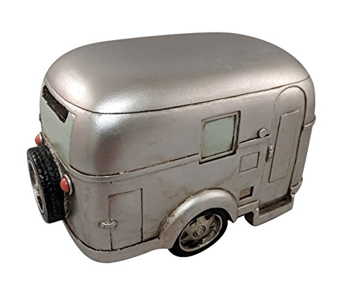 Perfect Game Silver Coin - Perfect Seeking RV Trailer Camper Coin Saving Bank Silver Vintage Travel Kids Home Money