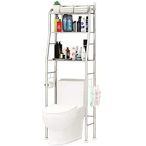 Yaotop Shelf Bathroom Space Saver,3-Tier Toilet Towel Storage Rack Holder Over The Bathroom Toilet Shelf Organizer,18.8