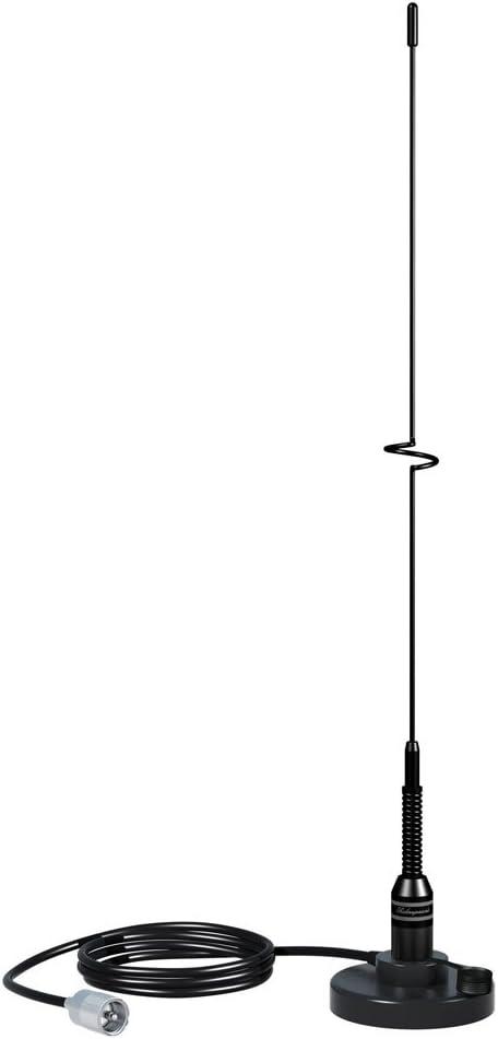 Antena de látigo VHF SS de 19 Pulgadas, Color Negro ...