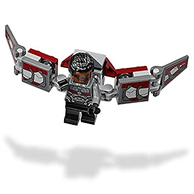 LEGO 76104 Marvel Avengers The Hulkbuster Smash-Up, Bruce Banner, Falcon, Proxima Midnight & Outrider, Wakanda Defence Playset: Toys & Games