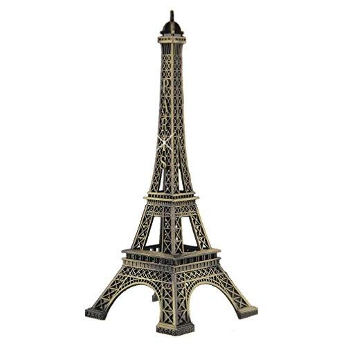 Haiker 15cm Paris Eiffel Tower Craft Art Statue Model Desk Room Decoration Gift,Bronze (Tower Desk Eiffel)