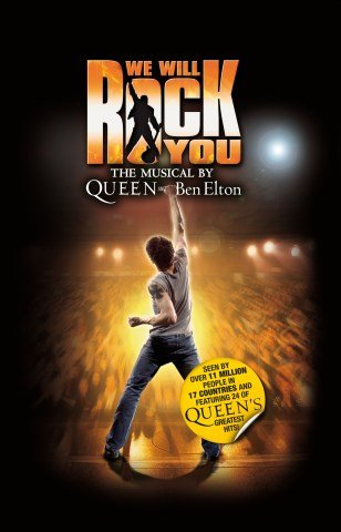WE WILL ROCK YOU THE MUSICAL REPRODUCTION THEATRE PHOTO