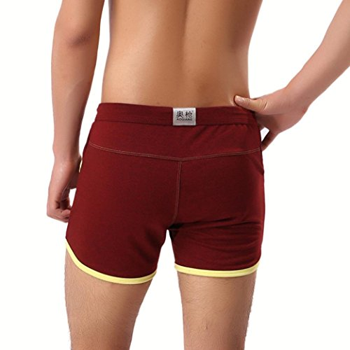 7a51b5afbf Aurorax Men's Swim Trunks Cotton Basic Watershorts Beach Shorts - [Slim Fit  Quick Dry Shorts