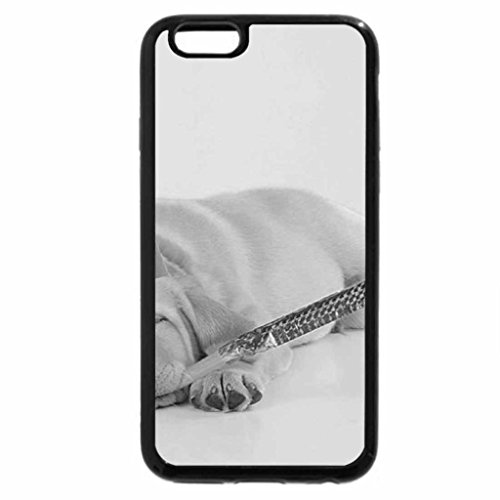 iPhone 6S Plus Case, iPhone 6 Plus Case (Black & White) - First party :