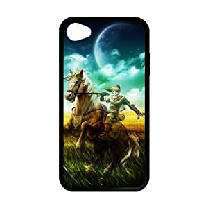 Games Customilzed The Legend of Zelda for iPhone 4,4S Case