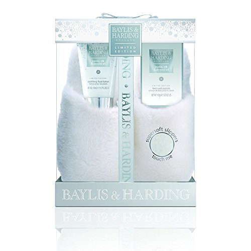 Baylis & Harding Jojoba, Silk and Almond Oil Luxury Slipper Gift Set