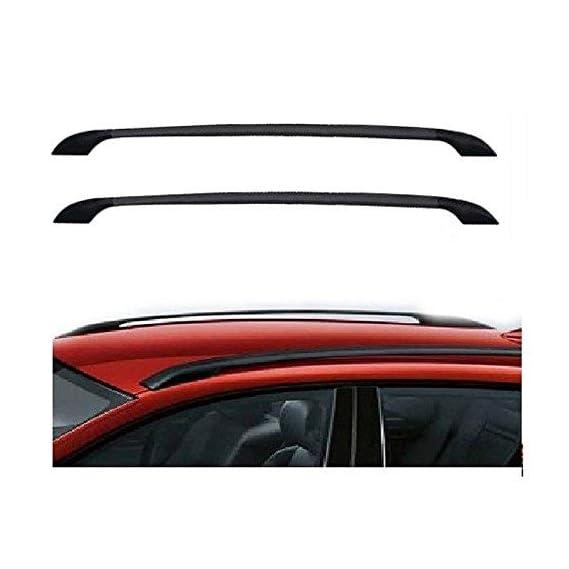 Dhe Best RF-04 Car Stylish Drill Free Roof Rails Black for Mahindra Scorpio(All Variants)