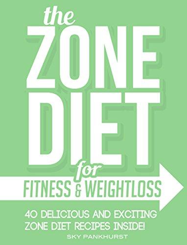 Zone Diet Fitness WeightLoss Delicious ebook