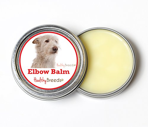 (Healthy Breeds Dog Organic Elbow Callus Relief Balm for Portuguese Podengo Pequeno - Over 200 Breeds - All Natural & Organic Oils Heal Dry Cracked & Chapped Skin - Unscented Formula - 2 oz Tin)