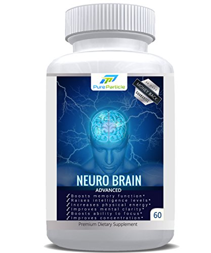 Premium Brain Supplement Support for Healthy Focus and Clarity Optimizer. Advanced Memory Booster Pills by Pure Particle