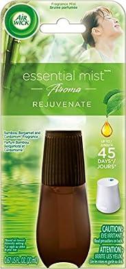 Air Wick Essential Mist Aroma Fragrance Oil Diffuser Refill, Rejuvenate, 20 Milliliter 1 count