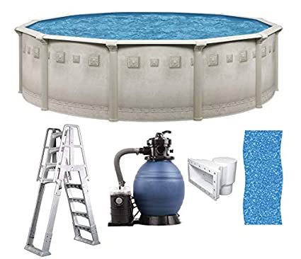 Amazon.com: Brasil - Piscina redonda de 5.9 x 20.5 in por ...