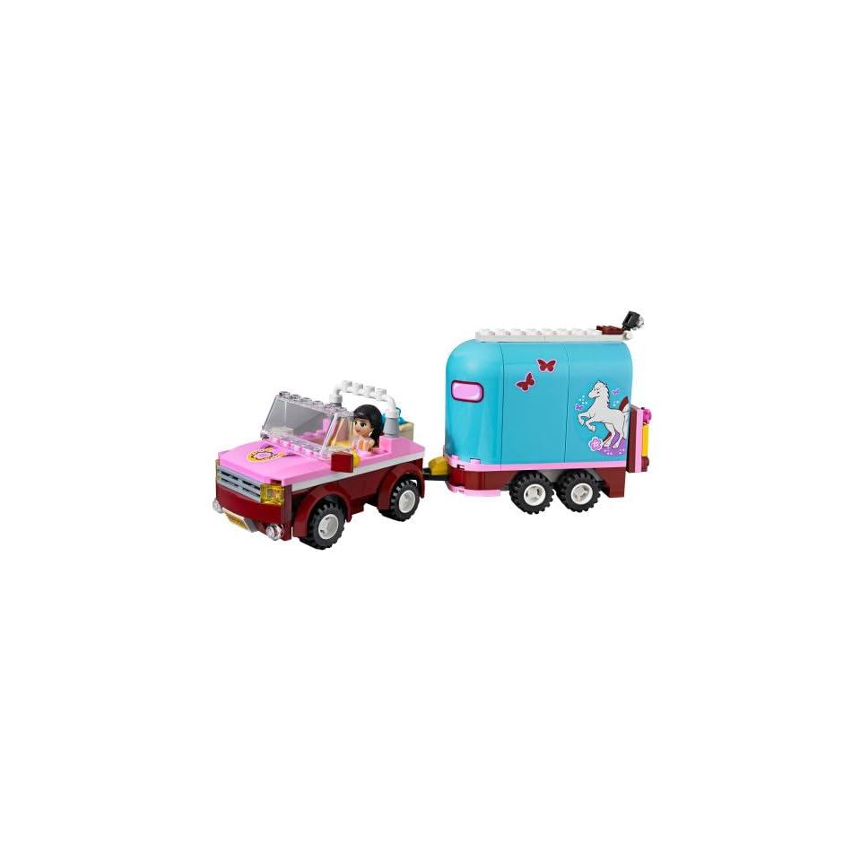 LEGO Friends 3186   Geländewagen mit Pferdeanhänger Spielzeug