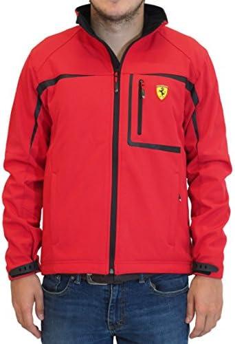 Ferrari Softshelljacke Formel 1, F1, rot, Fernando Alonso, Kimi Räikkönen, XL