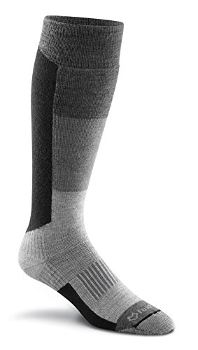 FoxRiver Wilmot Lightweight Over-The-Calf Ski Socks, X-Large, Charcoal
