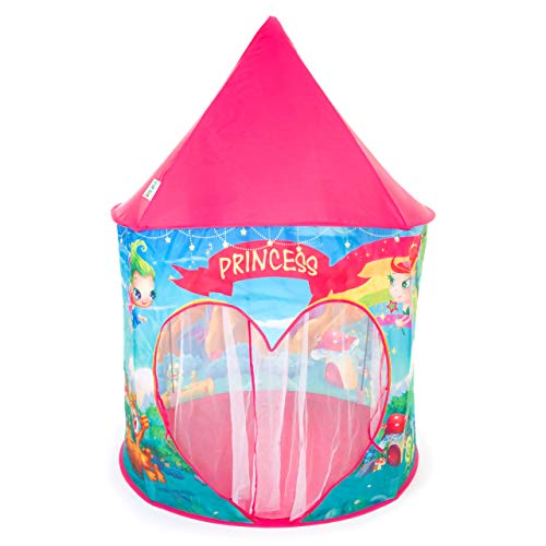 Tents 2nd - Princess Fairy Play Tent for Little Girls, Toddlers - Kids Pop Up Castle Tents