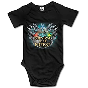 IEEFTA ARK Survival Evolved A Logo Baby Climbing Clothes Bodysuit