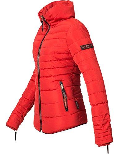 Xs xxl Piumino Inverno Ambra Marikoo Signore Colori 10 Rosso qw0ZaxzvRW