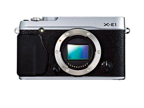 Fujifilm X-E1 - Cámara Digital (16.3 MP, MILC, CMOS, 18-55 mm, Fujifilm X, Bayonet) Sólo Cuerpo - Color Plateado