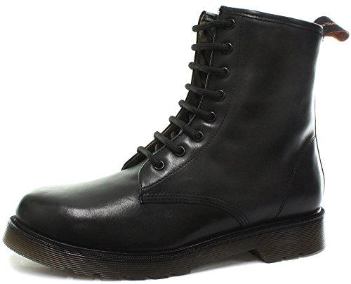 Tred Flex Tredflex 8 Eyelet Black Unisex Derby Boots